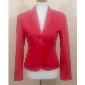 Gap Single Button Blazer W/Paisley Design Size 4